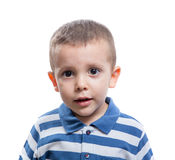 Little boy looking Royalty Free Stock Photos