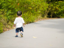 Little Boy Lost Stock Images