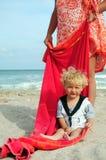 Little boy mariner royalty free stock photography