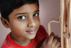 Little Boy mignon indien Images stock