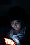 Child at night Stock Photography