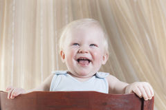 The little boy of 8 months Royalty Free Stock Images