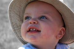 Little Boy-Nahaufnahme 2 stockbild