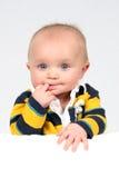 Little Boy Nahaufnahme genommen Lizenzfreies Stockbild