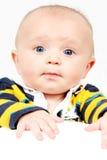 Little Boy Nahaufnahme genommen stockfotografie
