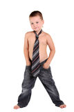 Little boy necktie Royalty Free Stock Photography