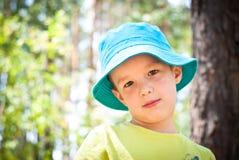 Little boy outdoor Stock Photo
