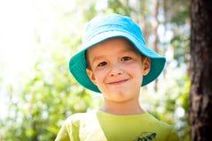 Little boy outdoor Stock Photos