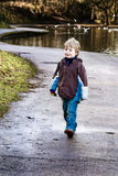 Little boy in the park Stock Photography