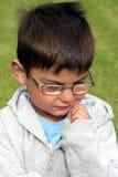 Little Boy pensif Image libre de droits
