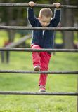 Little boy at playground Royalty Free Stock Photography
