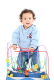 Little boy playing Stock Images