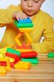 Little boy playing Stock Image