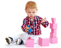 Free Little Boy Playing Stock Images - 47657714