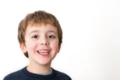 Little Boy Portrait Royalty Free Stock Image