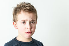 Little boy Portrait Royalty Free Stock Photo