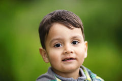 Little boy portrait Stock Photography