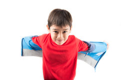 Little boy portrait close up face with long john cloth Royalty Free Stock Photos