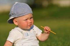 Little boy portrait Stock Image