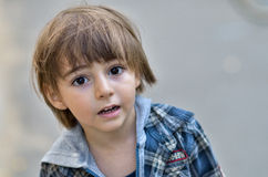 Little boy portrait Royalty Free Stock Photo