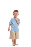 Little boy posing Royalty Free Stock Images