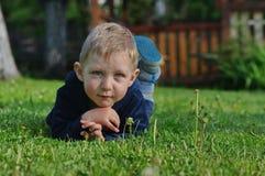 Little boy posing Royalty Free Stock Photo