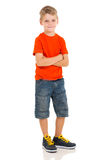 Little boy posing Royalty Free Stock Photo