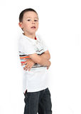 Little boy posing with smile Stock Photos