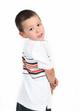 Little boy posing with smile Royalty Free Stock Photo