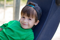 Little boy relax Royalty Free Stock Images