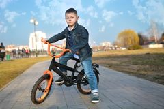 d0d30b89955 Cute Boy Riding Cycle Stock Images - Download 940 Royalty Free Photos