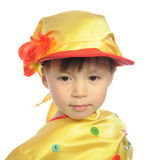 Little boy in russian traditional folk clothes Stock Photo