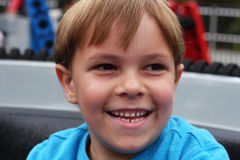 Little boy's smiling face Royalty Free Stock Image