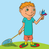 Little boy. Stock Images