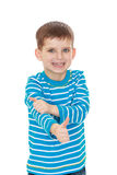 Little boy shows gesture all ok Royalty Free Stock Photos