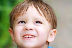 Little Boy skratta Royaltyfri Bild