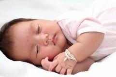 Little boy sleeping . Stock Photos