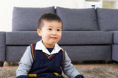 Little boy smile Stock Images