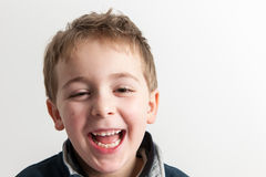 Little Boy Smiling Royalty Free Stock Images