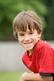 Little Boy Smiling Royalty Free Stock Photography