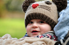 Little boy smiling Royalty Free Stock Image