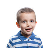 Little boy smiling Royalty Free Stock Photo