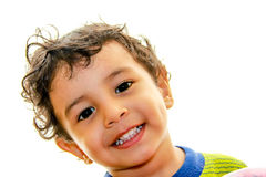 A little boy smiling Royalty Free Stock Photography