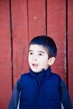 Little Boy sorprendido fotos de archivo