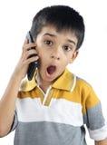 Little Boy sorprendido Fotografía de archivo libre de regalías