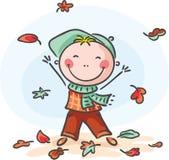 Little Boy-Spielen Lizenzfreie Stockbilder