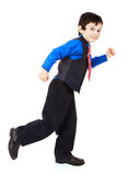 Little boy in suit Stock Photo