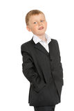 Little boy in a suit Royalty Free Stock Photo