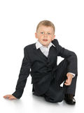 Little boy in a suit Royalty Free Stock Photos