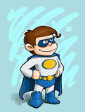 Little boy Superhero Royalty Free Stock Image